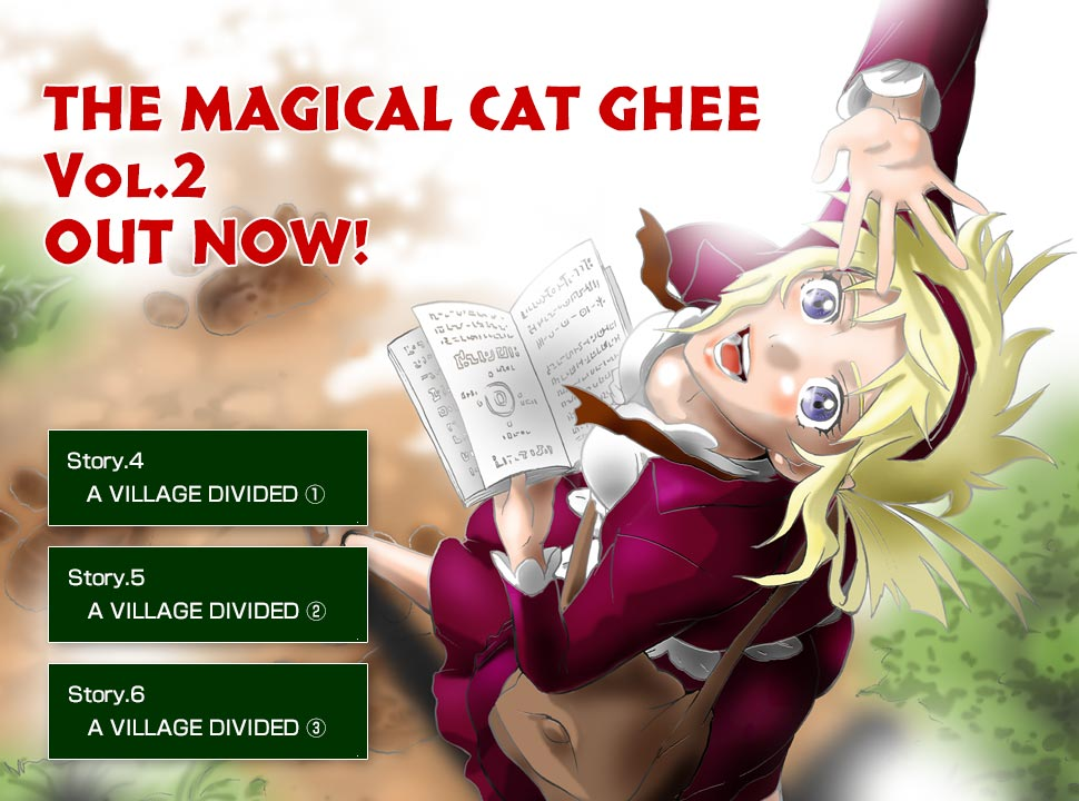 THE MAGICAL CAT GHEE Vol.2